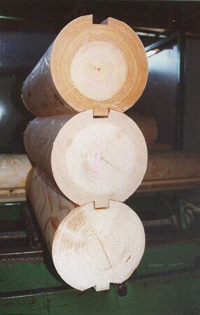 log prof 200mm round